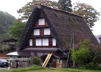 Làng cổ Shinrakawago ở tỉnh Gifu