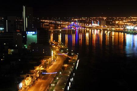 Sông Hàn về đêm